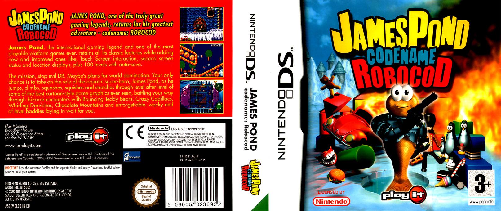 James Pond - Codename Robocod DS coverfullHQ (AJPP)