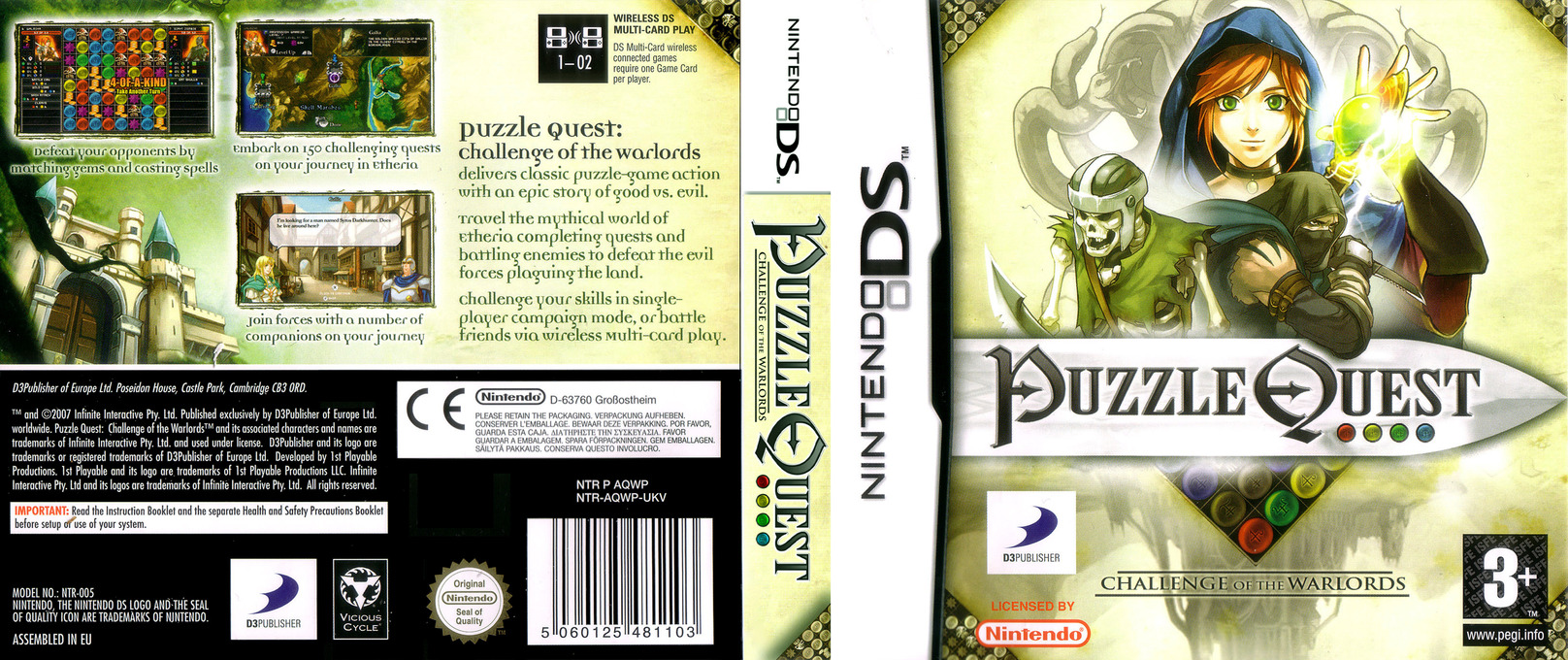 Puzzle Quest - Challenge of the Warlords DS coverfullHQ (AQWP)