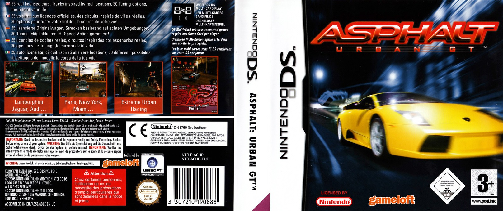 Asphalt - Urban GT DS coverfullHQ (ASHP)