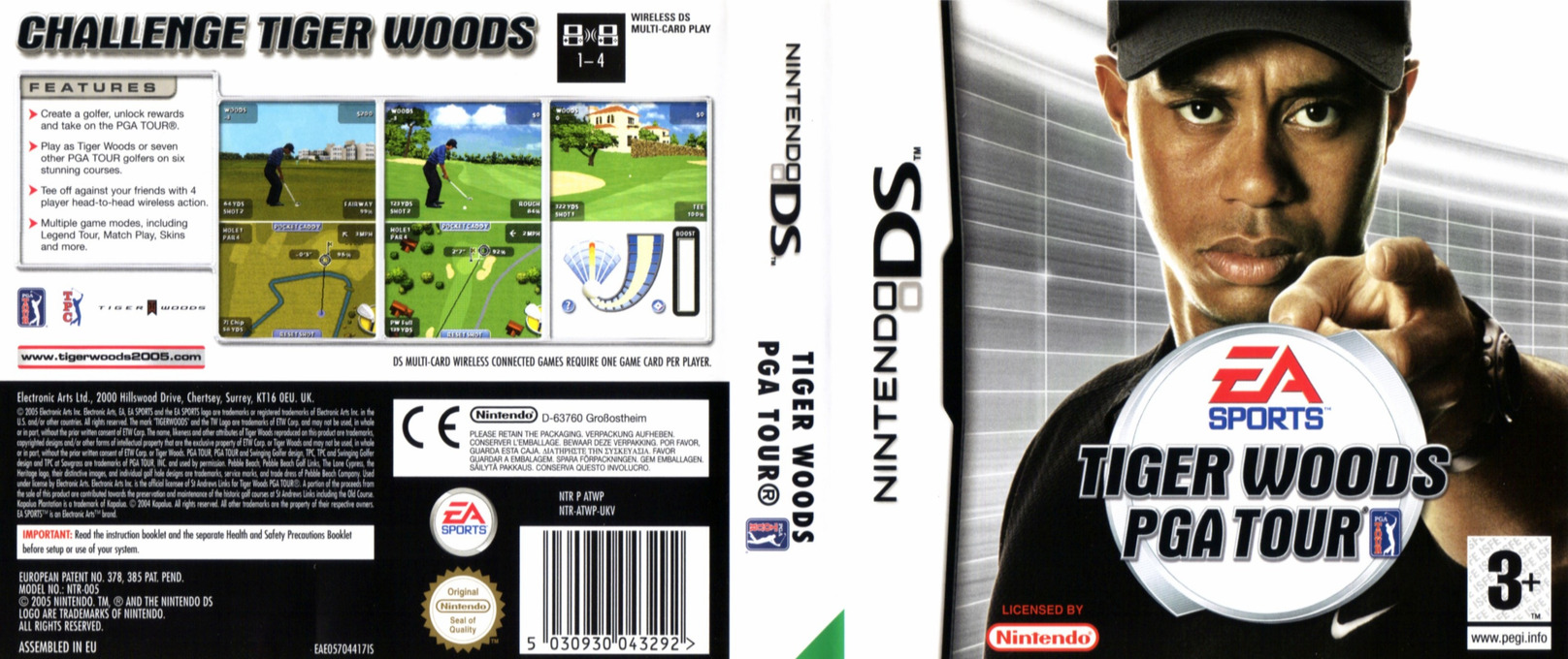 Tiger Woods PGA Tour DS coverfullHQ (ATWP)