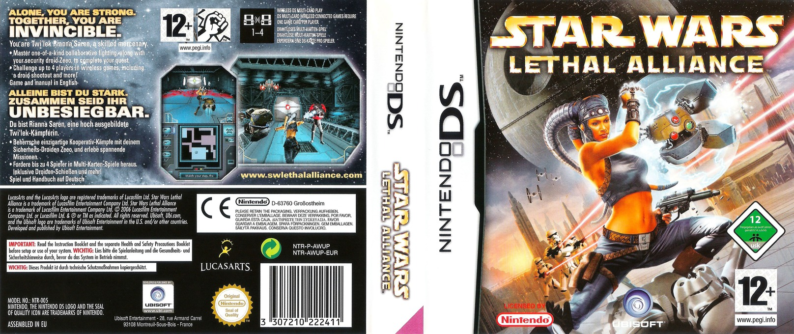 Star Wars - Lethal Alliance DS coverfullHQ (AWUP)