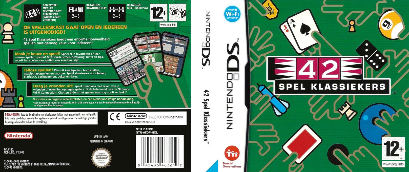 42 Spel Klassiekers DS coverfullHQ (ATDP)