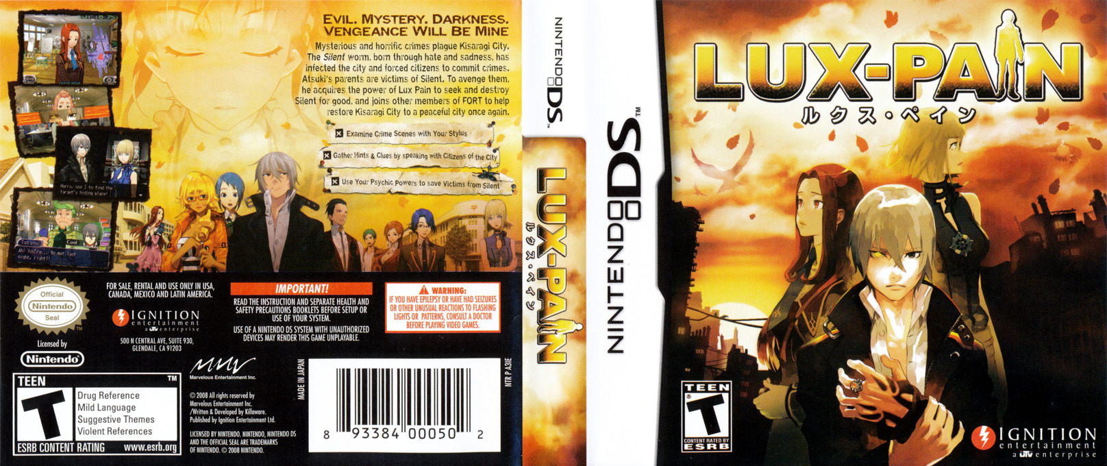 Lux-Pain DS coverfullHQ (A3IE)