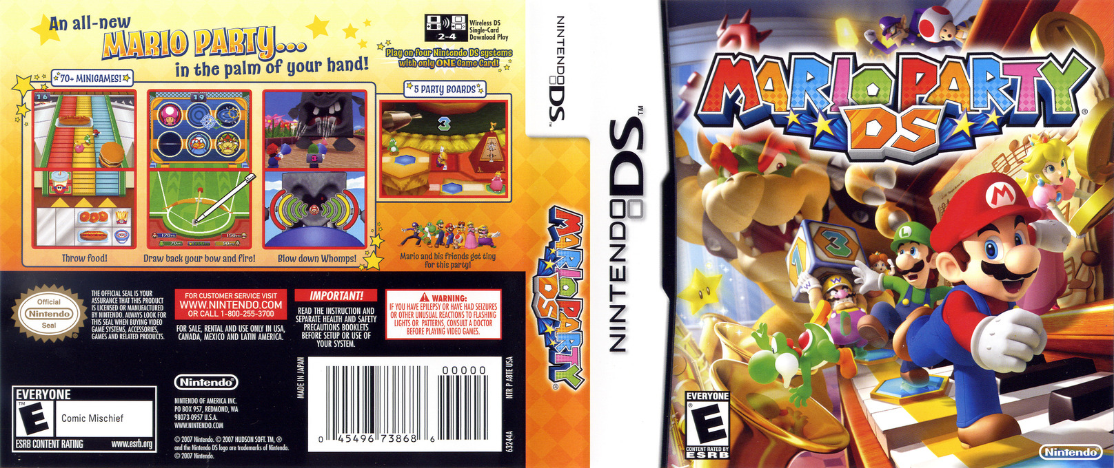 Mario Party DS DS coverfullHQ (A8TE)