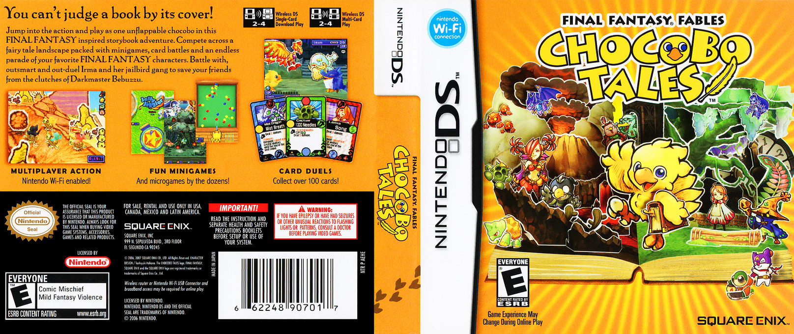 Final Fantasy Fables - Chocobo Tales DS coverfullHQ (AEHE)