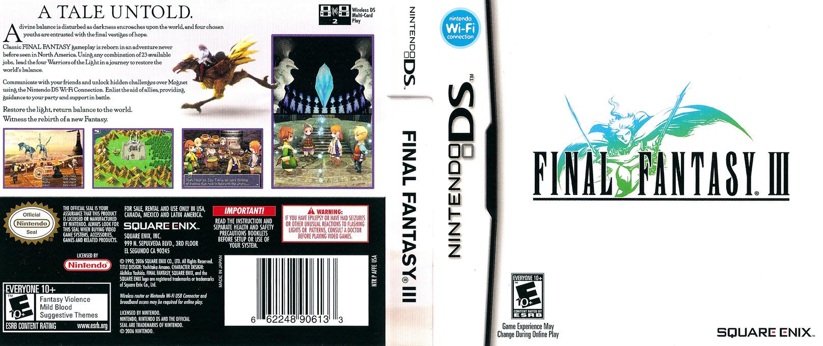 Final Fantasy III DS coverfullHQ (AFFE)
