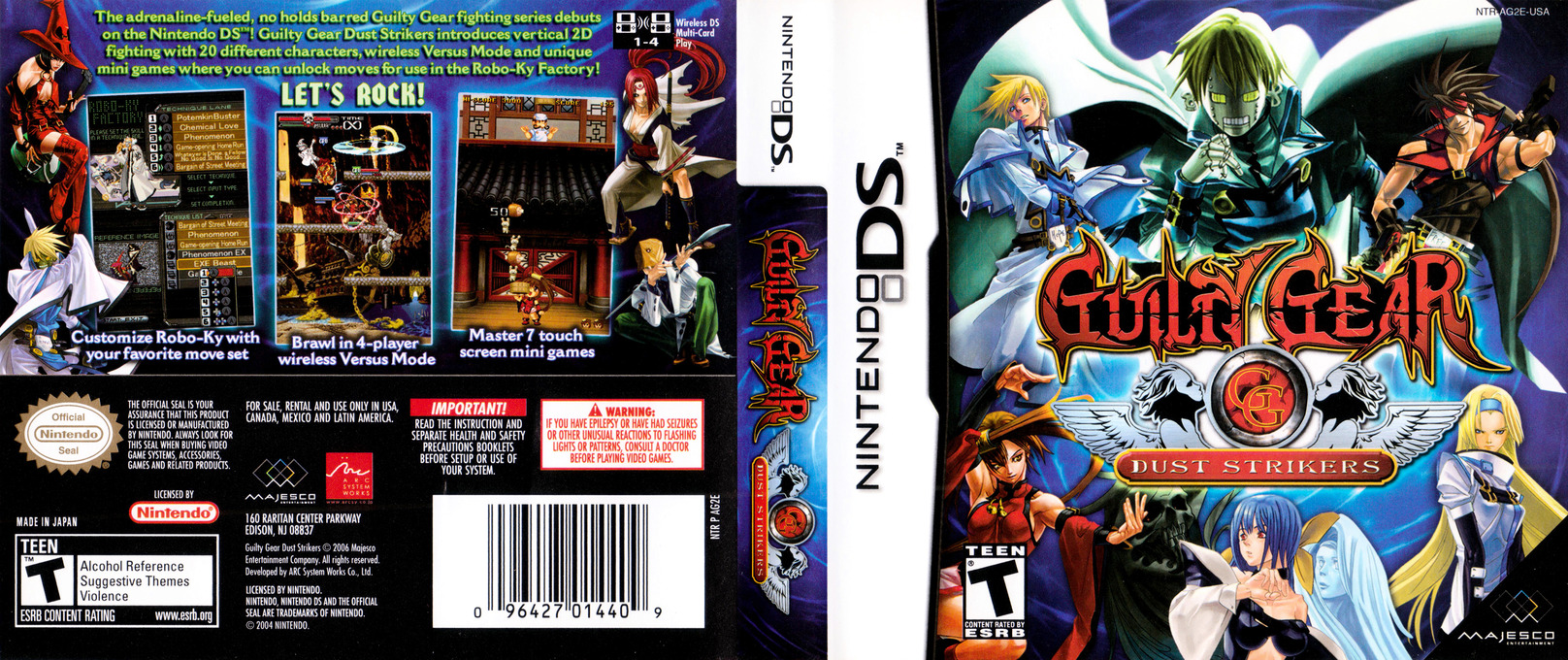 Guilty Gear - Dust Strikers DS coverfullHQ (AG2E)