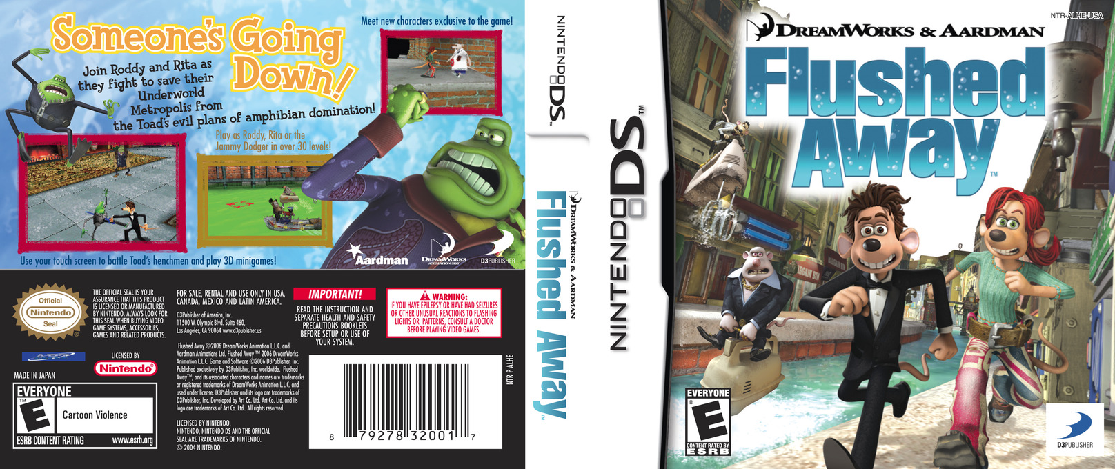 Flushed Away DS coverfullHQ (ALHE)