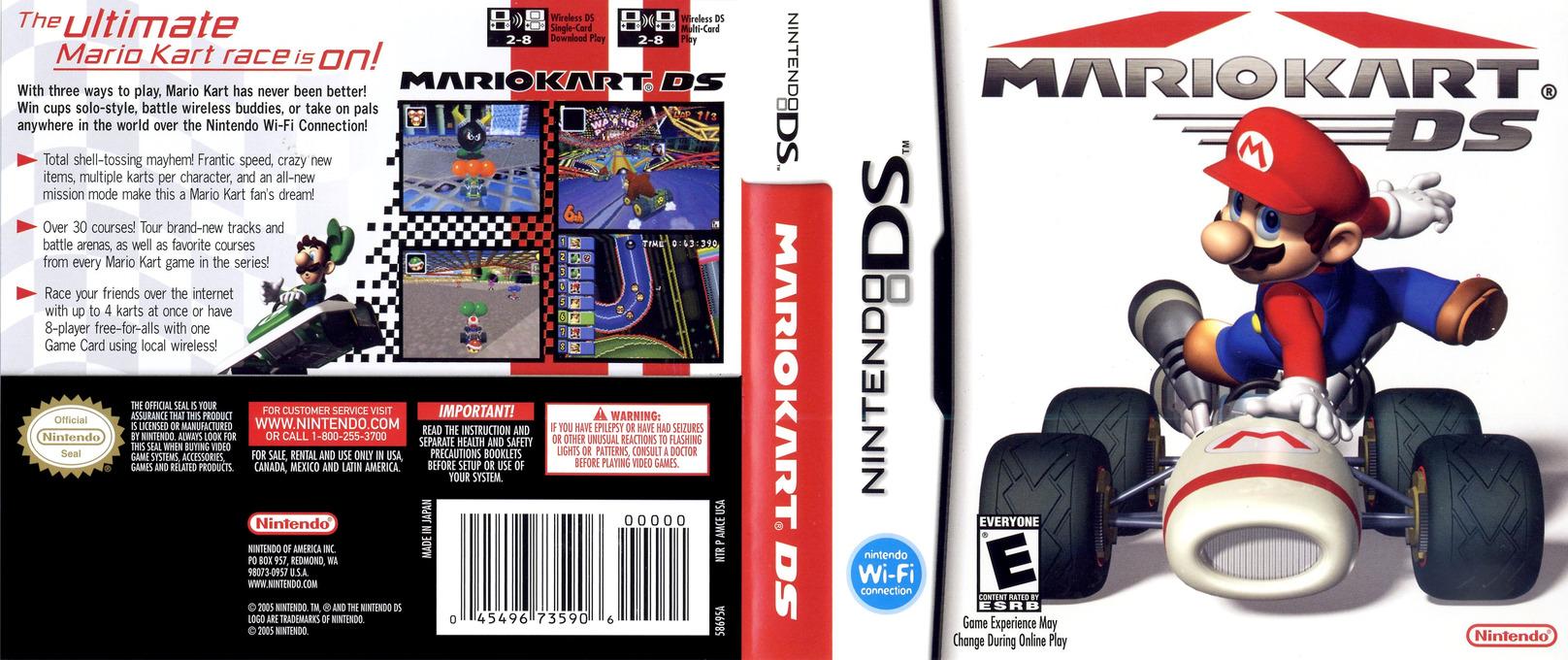 Mario Kart DS DS coverfullHQ (AMCE)