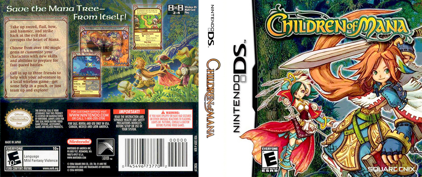 Children of Mana DS coverfullHQ (ASEE)