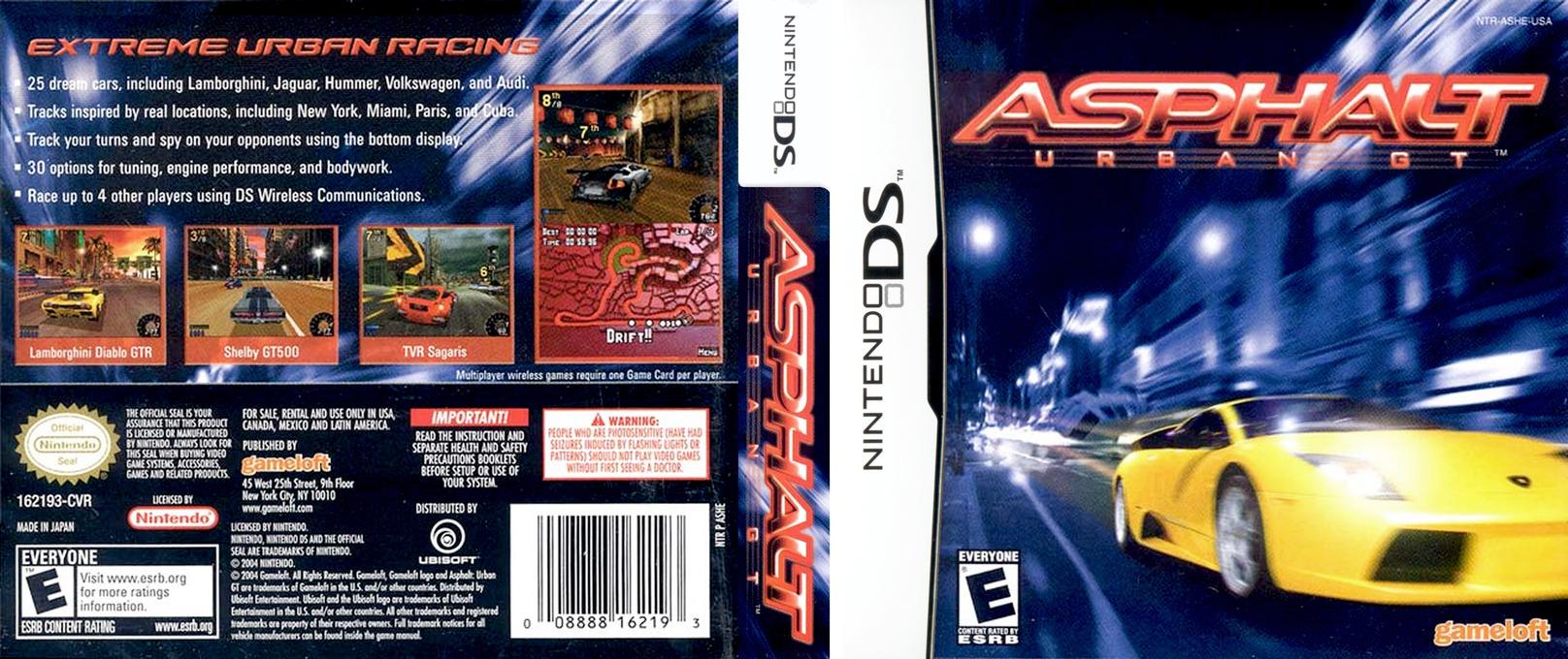 Asphalt - Urban GT DS coverfullHQ (ASHE)