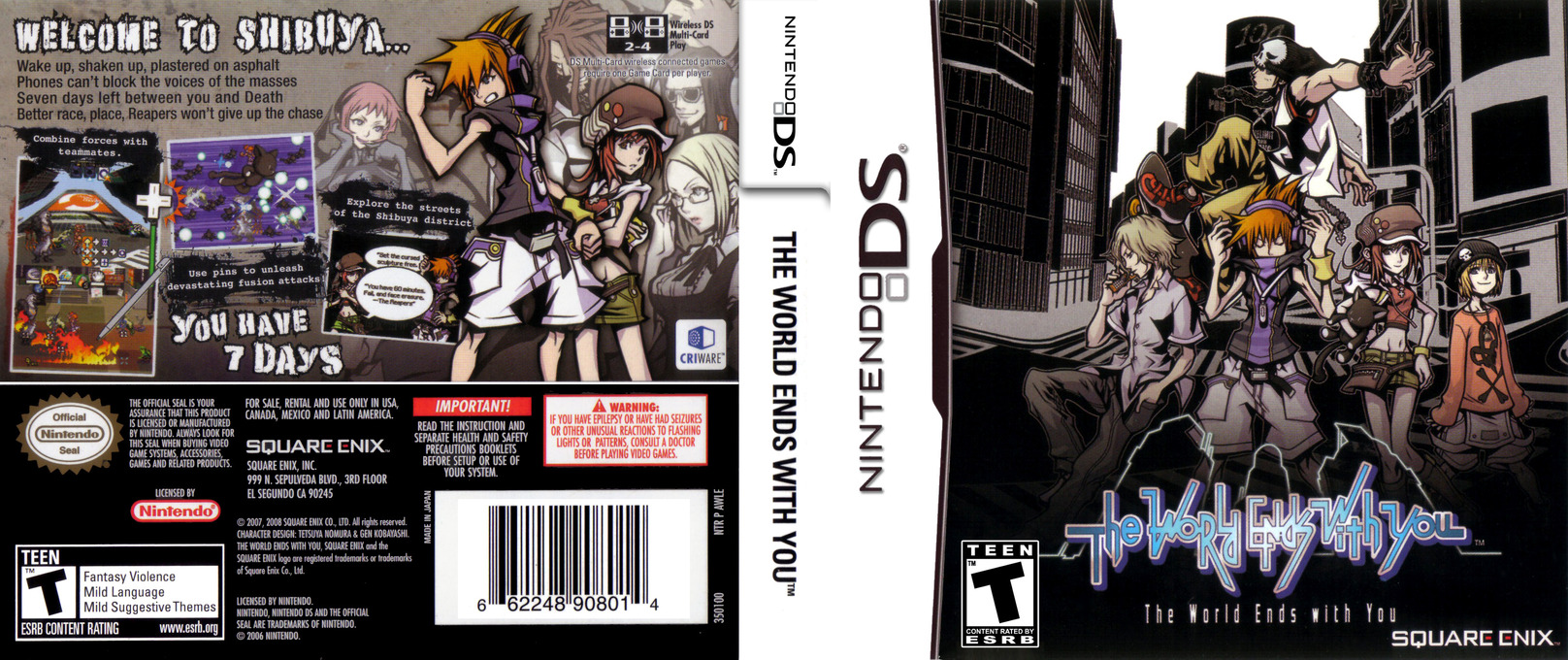 The World Ends with You DS coverfullHQ (AWLE)