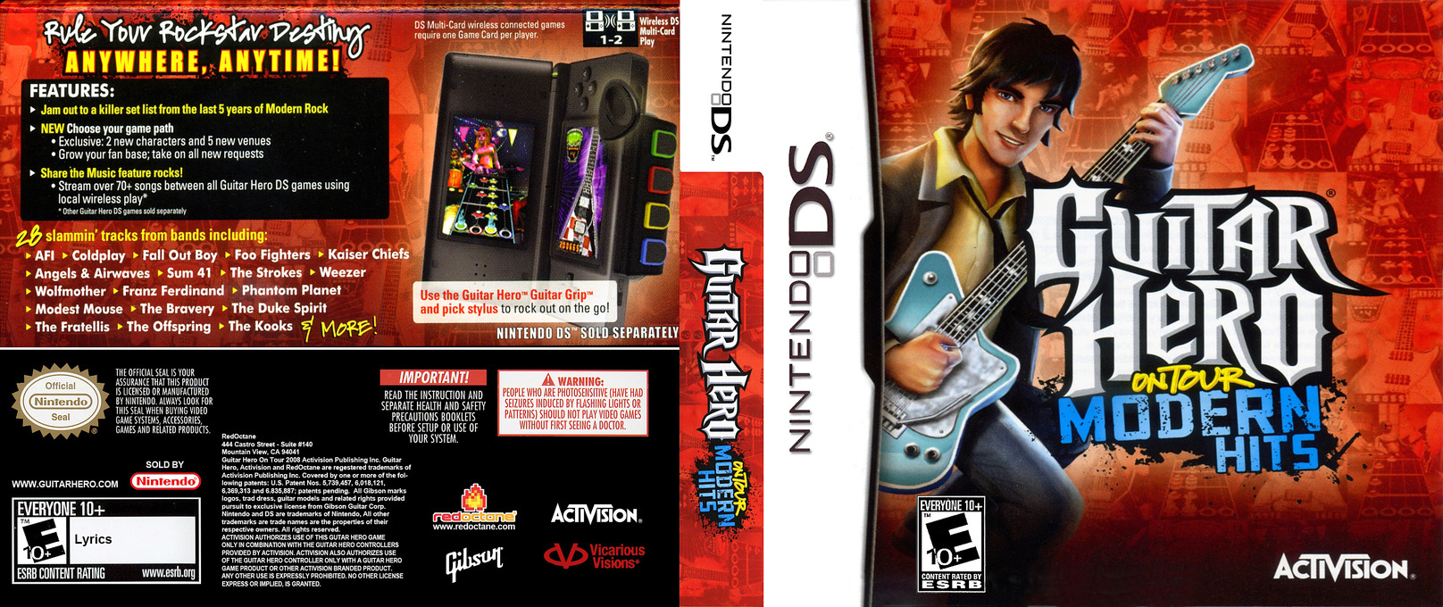 Guitar Hero - On Tour - Modern Hits DS coverfullHQ (C6QE)