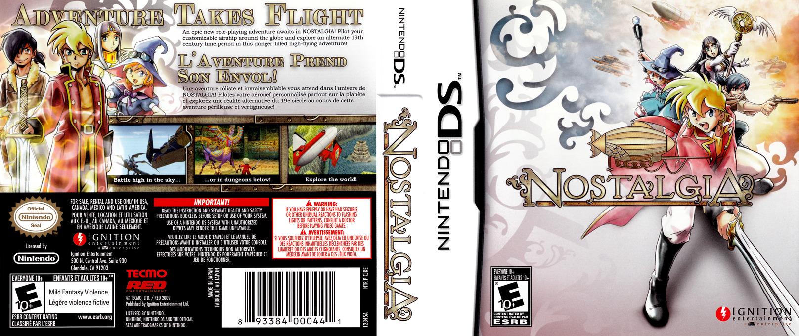 Nostalgia DS coverfullHQ (CJKE)
