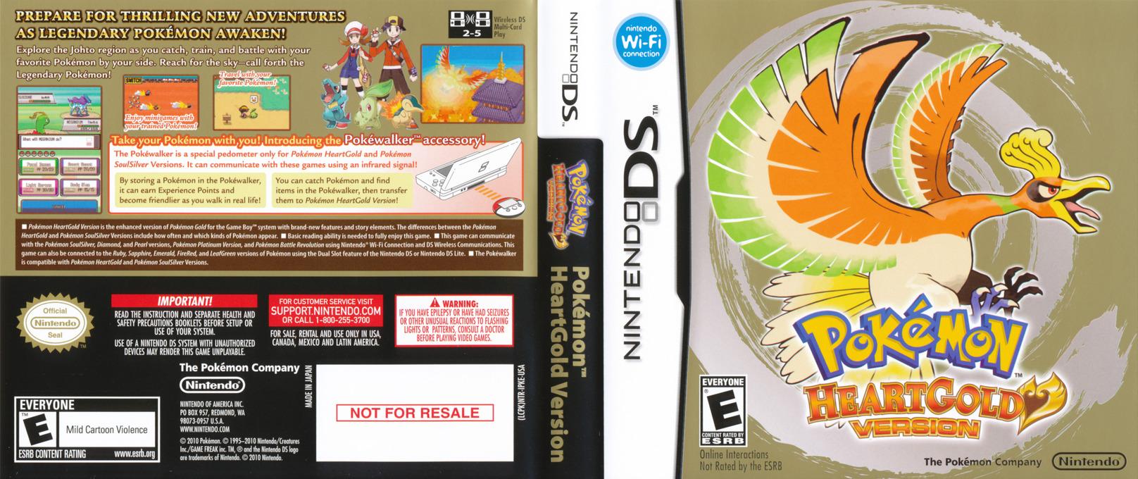Pokémon - HeartGold Version DS coverfullHQ (IPKE)