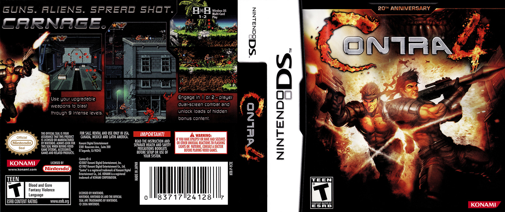 Contra 4 DS coverfullHQ (YCTE)