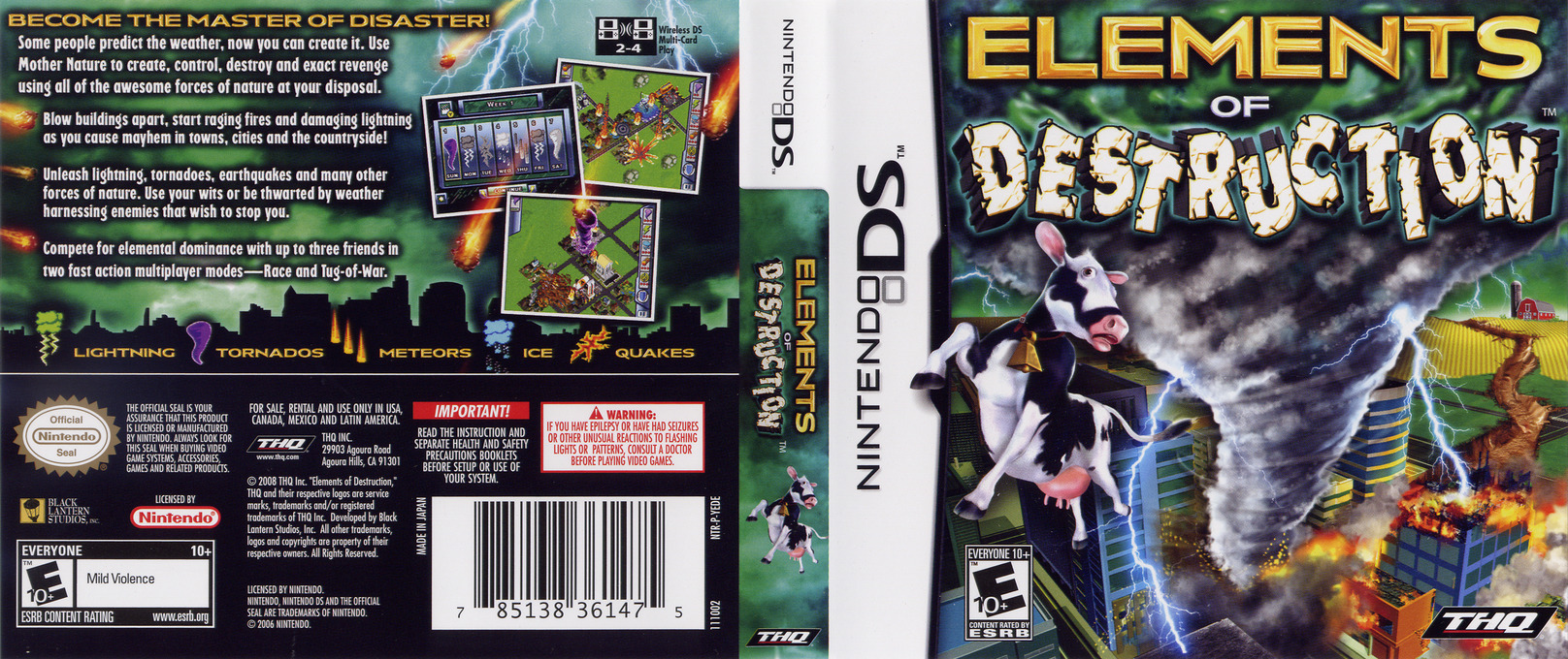 Elements of Destruction DS coverfullHQ (YEDE)