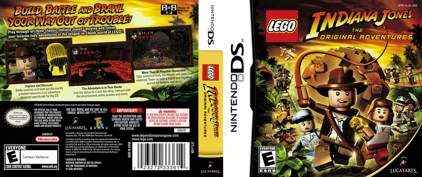 LEGO Indiana Jones - The Original Adventures DS coverfullHQ (YLJE)