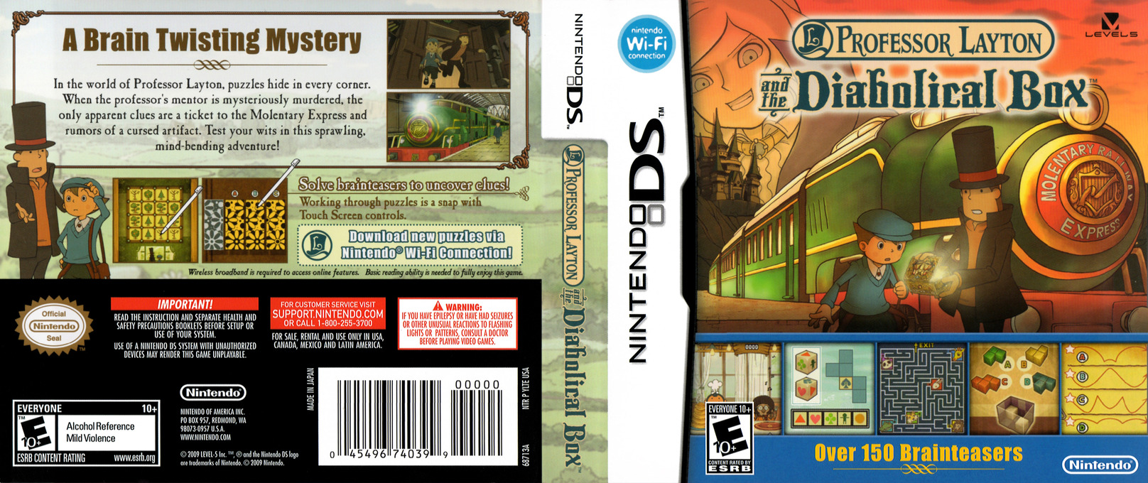 Professor Layton and the Diabolical Box DS coverfullHQ (YLTE)