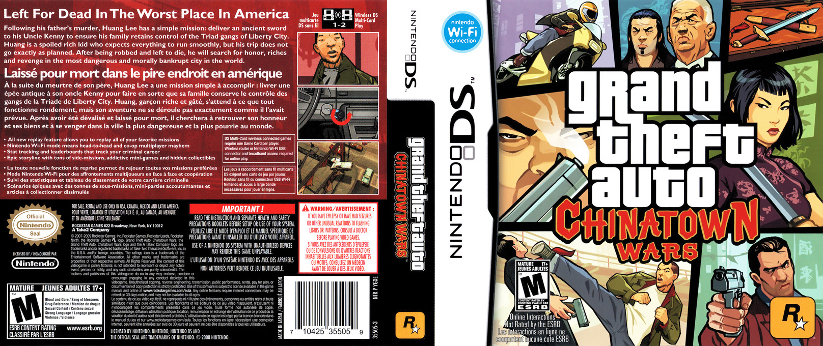 Grand Theft Auto - Chinatown Wars DS coverfullHQB (YGXE)