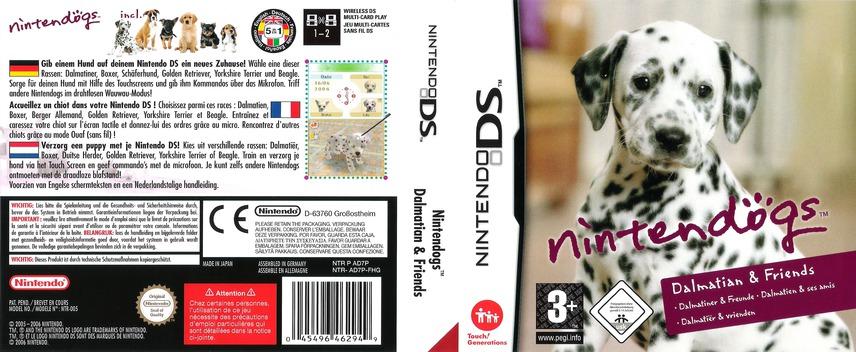 Nintendogs - Dalmatiner & Freunde DS coverfullM (AD7P)