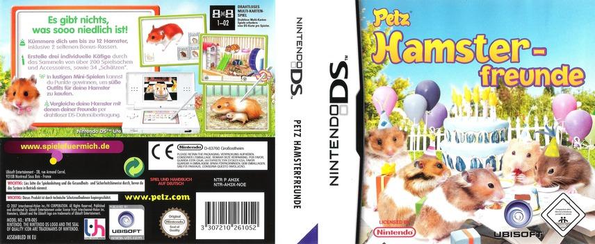Petz - Hamsterfreunde DS coverfullM (AH3X)