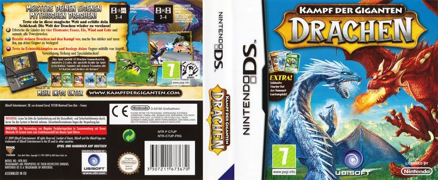 Kampf der Giganten - Drachen DS coverfullM (C7UP)