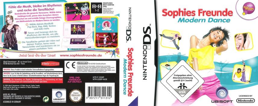 Sophies Freunde - Modern Dance DS coverfullM (CDSP)