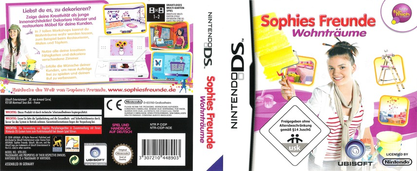 Sophies Freunde - Wohnträume DS coverfullM (CIDP)