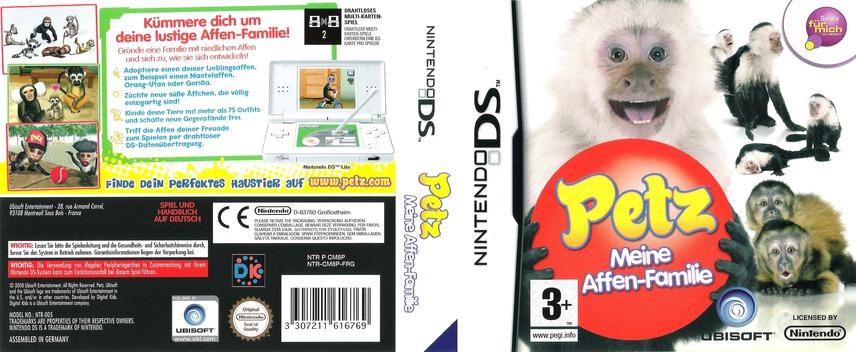 Petz - Meine Affen-Fanilie DS coverfullM (CM8P)