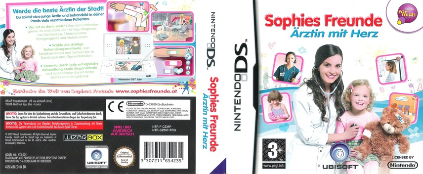 Sophies Freunde  - Ärztin mit Herz DS coverfullM (CZMP)