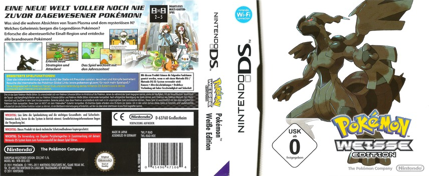 Pokémon - Weisse Edition DS coverfullM (IRAD)