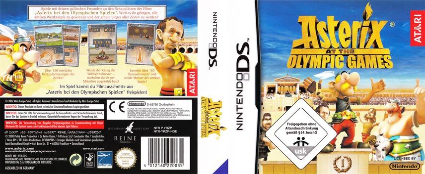 Asterix bei den Olympischen Spielen DS coverfullM (YRZP)