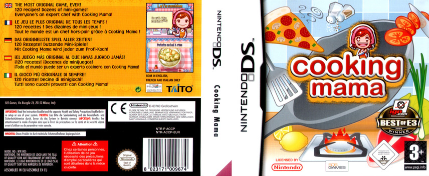 Cooking Mama DS coverfullM (ACCP)