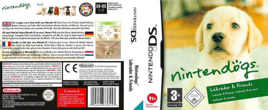 Nintendogs - Labrador & Friends DS coverfullM (AD3P)