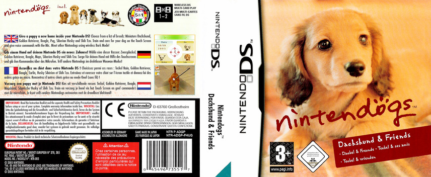Nintendogs - Dachshund & Friends DS coverfullM (ADGP)