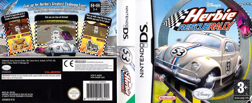 Herbie - Rescue Rally DS coverfullM (AHQP)