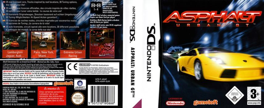 Asphalt - Urban GT DS coverfullM (ASHP)