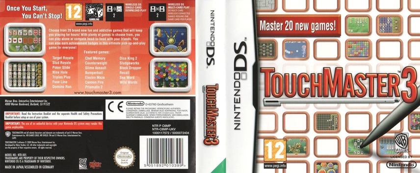 TouchMaster 3 DS coverfullM (C6MP)
