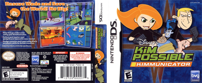 Kim Possible - Kimmunicator DS coverfullM (AKPE)