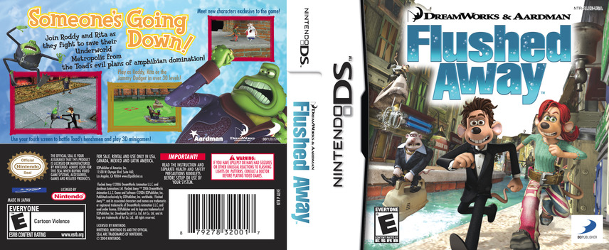 Flushed Away DS coverfullM (ALHE)