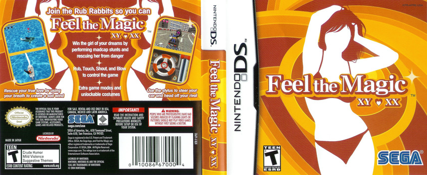 Feel the Magic - XY XX DS coverfullM (APRE)