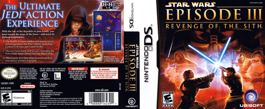 Star Wars - Episode III - Revenge of the Sith DS coverfullM (ASTE)