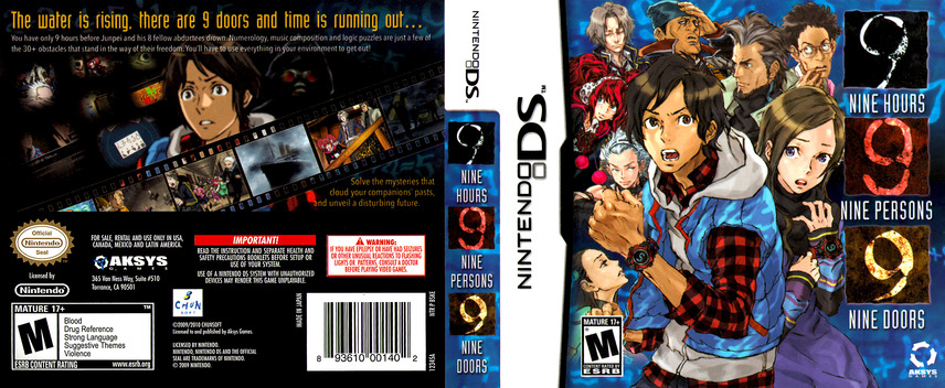 Nine Hours, Nine Persons, Nine Doors DS coverfullM (BSKE)