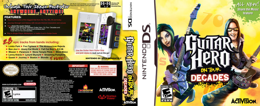 Guitar Hero - On Tour - Decades DS coverfullM (CGSE)