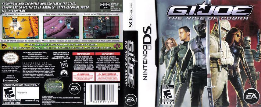 G.I. Joe - The Rise of Cobra DS coverfullM (CJPE)