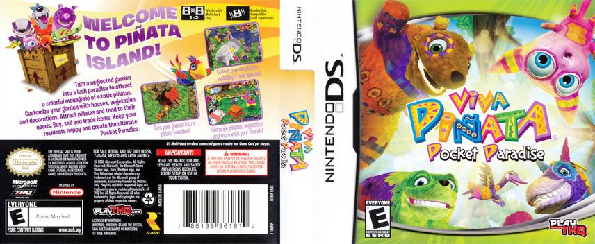 Viva Pinata - Pocket Paradise DS coverfullM (CP3E)