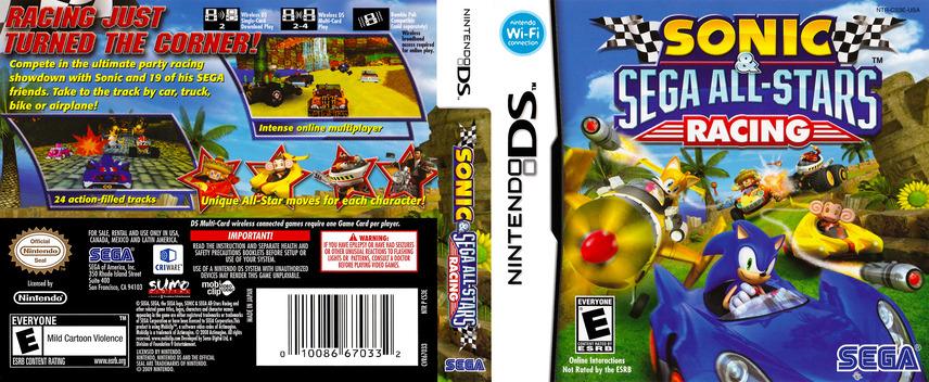 Sonic & Sega All-Stars Racing DS coverfullM (CS3E)