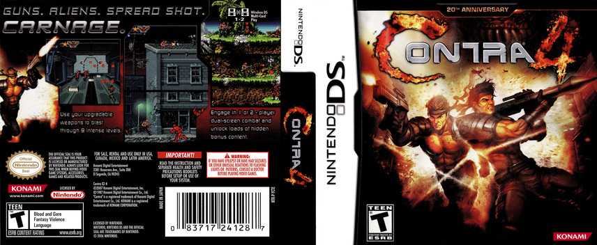 Contra 4 DS coverfullM (YCTE)