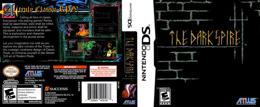 The Dark Spire DS coverfullM (YEAE)